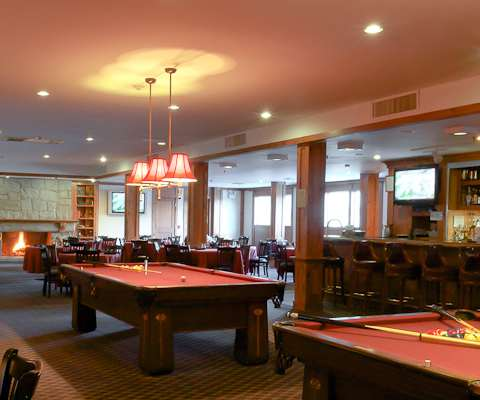 The Heritage Reosrt billiards room a great place to hang out on  Chol Hamoed with cakes and sweets, snacks, drinks, and your every in-between-meals-need