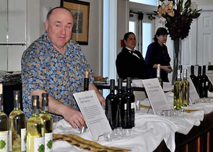 A gala Wine Tasting event at Mendy Vim's Holidays